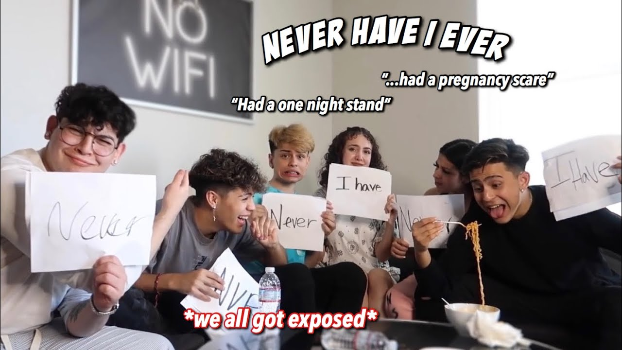 SPICY NEVER HAVE I EVER FT OUR FRIENDS!!🥵 *INTENSE*
