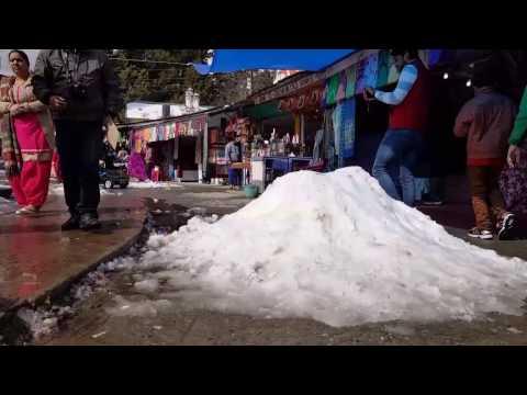 Snowfall in Nainital 2017. January 9 . (After 2 days)