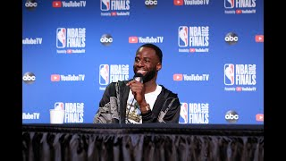 Draymond Green On Klay Thompson Injury And Losing NBA Finals To Raptors - Full Press Conference