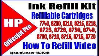 Ink Refill Kit For HP 952 Cart…