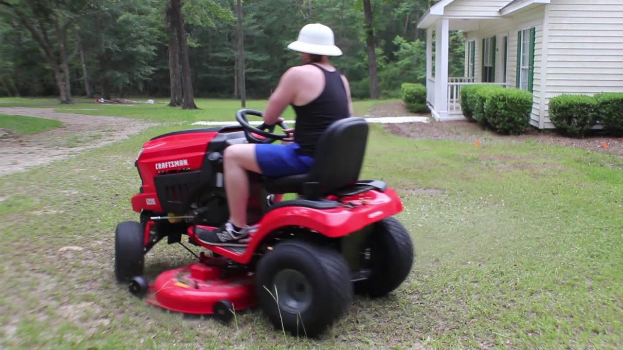 Craftsman T225 46` Riding Lawn Mower