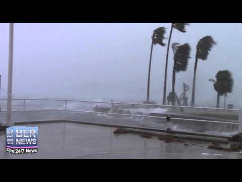 St Georges During Hurricane Gonzalo, October 17 2014