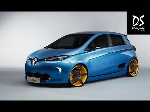 Photoshop CC - Virtual Car Tuning - Renault ZOE
