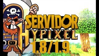 SERVER HYPIXEL? : SERVIDOR IGUAL O HYPIXEL (PIRATA E ORIGINAL 1.8.x,1.9.x) #2