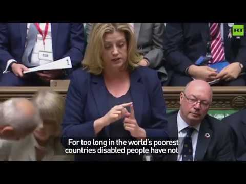Penny Mordaunt becomes first minister to use sign language in Parliament