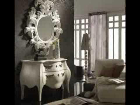 Espejos clasicos ideas para la decoracion con espejos de for Decoracion para espejos