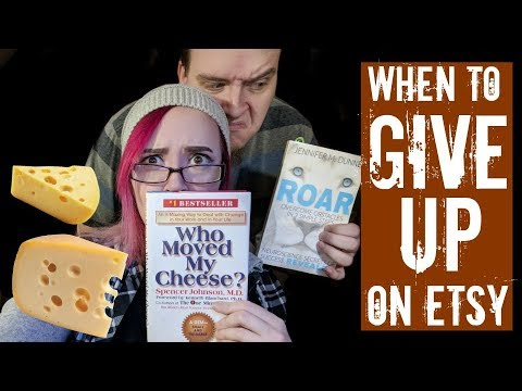 When you feel like Giving Up on your Etsy shop - Live Q&A