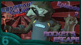Guardians Of The Galaxy The Telltale Series Part 6 Rocketand39s Escape