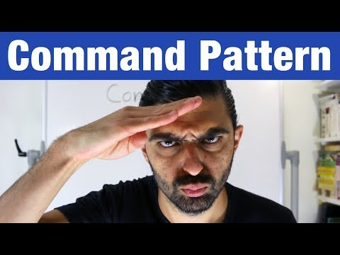 Command Pattern – Head First Design Patterns (ep 7)