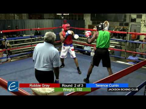 Jackson, Tn Boxing 26MAR2016 R Gray vs T Currin