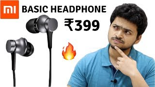 Mi Earphones Basic Unboxing & Review | Tech Unboxing