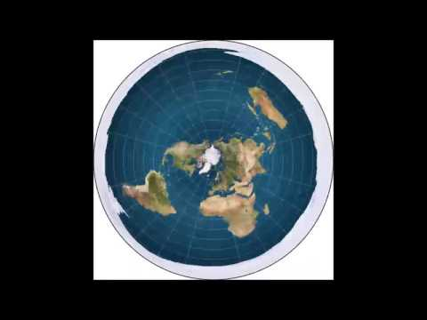 FLAT EARTH Antarctica OUTER RING Southern ICE WALL Holding in Oceans