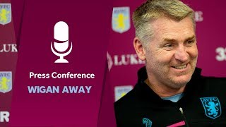 Press conference: Wigan away