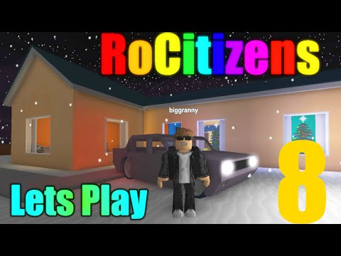 [ROBLOX: RoCitizens] - Lets Play Ep 8 - Big House (Taylorian)