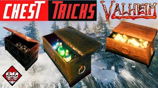 Valheim | How to Mount Items Inside Chests | Tips and Tricks | Guide