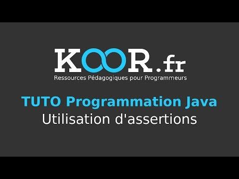 TUTO Java : Utilisation d'assertions