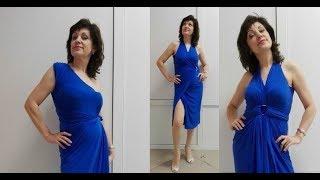 Карасук Привозочка №56 Как носить Пляжное платье трансформер  Флоранж Фаберлик