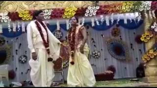Desi bride awesome dance on marriage stage