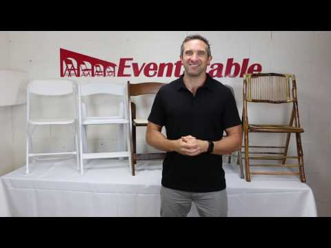 Folding Chairs for Events