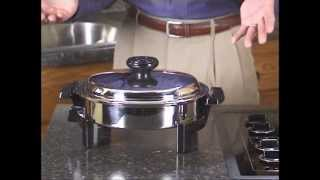 Lifetime Cookware - Baking With Your Liquid Core Skillet The Lifetime Way