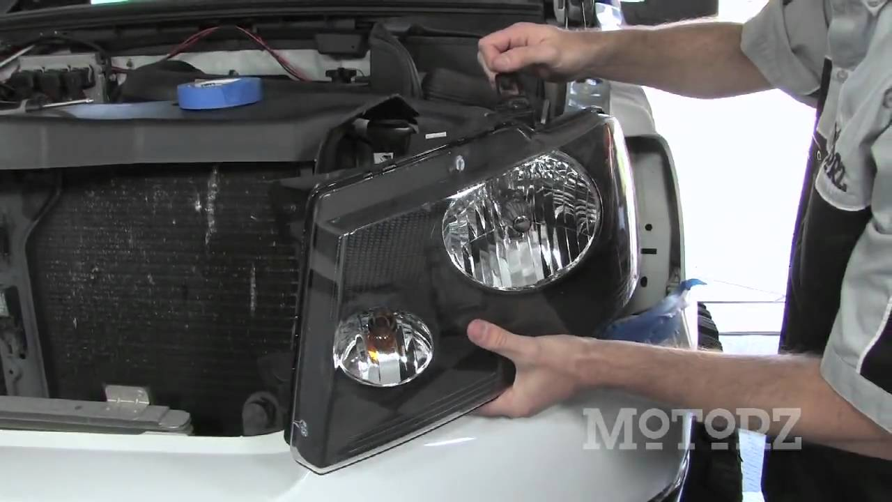 Installing Optilux Angel Eye 2500 Fog Lights