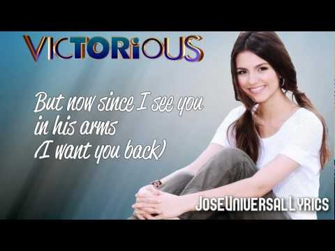Victorious Cast - I Want You Back ft. Victoria Justice (Lyrics On Screen) HD