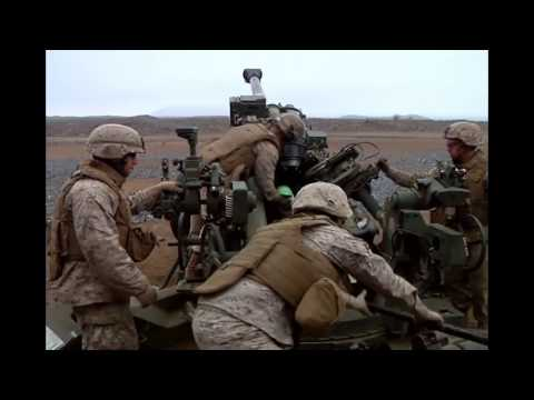 Australian Military Receive M777 Howitzer Training from US Marine Corps