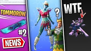 Fortnite News | Fairy Skin Leaked, Update Tomorrow, Glitched Glider, Day 11 Reward & More!