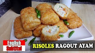 RISOLES RAGOUT AYAM   CHICKEN RAGOUT RISOLES By Yani Cakes #150