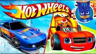Вспыш против Hot Wheels / Хот Вилс. Герои в масках. Гоночные машинки. Развивающий мультик