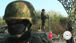 Así opera un retén militar en Sinaloa