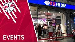 Pre-Opening unseres neuen RB Fanshops im Petersbogen!