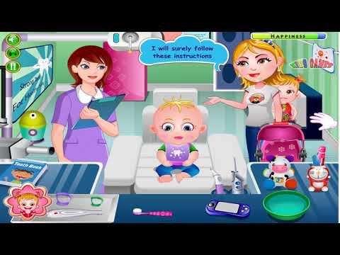 New Baby Hazel Doctor Games For Kids - Baby Hazel Gums Treatment