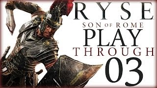RYSE: PlayThrough 03 ♛ Mario vs Boudica a Feiosa