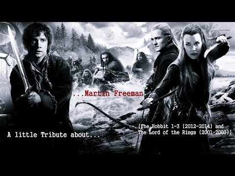 A Tribute about Martin Freeman IThe Hobbit and The Lord of the ringsI