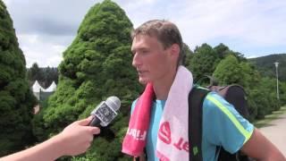 Petr Hájek po výhře v prvním kole kvalifikace na turnaji Futures v Ústí n. O.