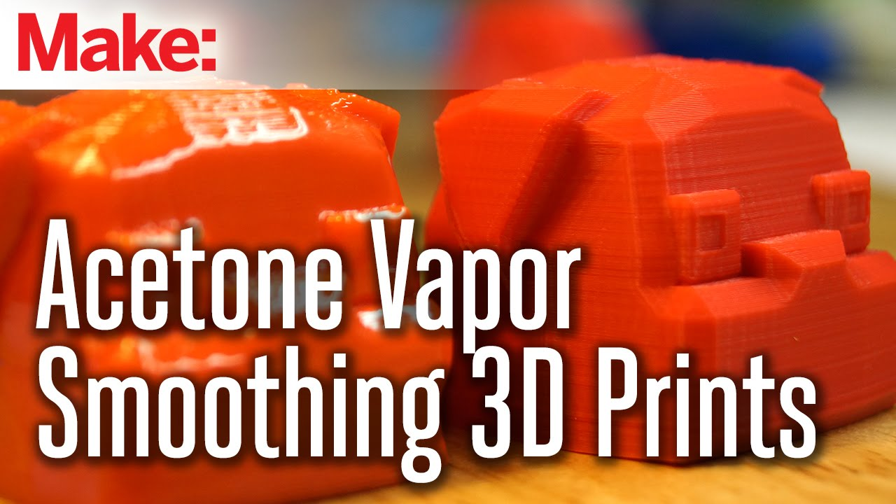 Vapor smoothing 3d printed objects with acetone youtube - Where can i buy a 3d printed house ...