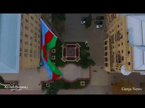 Gəncə şəhərinin mərkəzi hissəsi