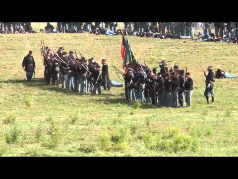 150th Antietam Reenactment Bloody Lane