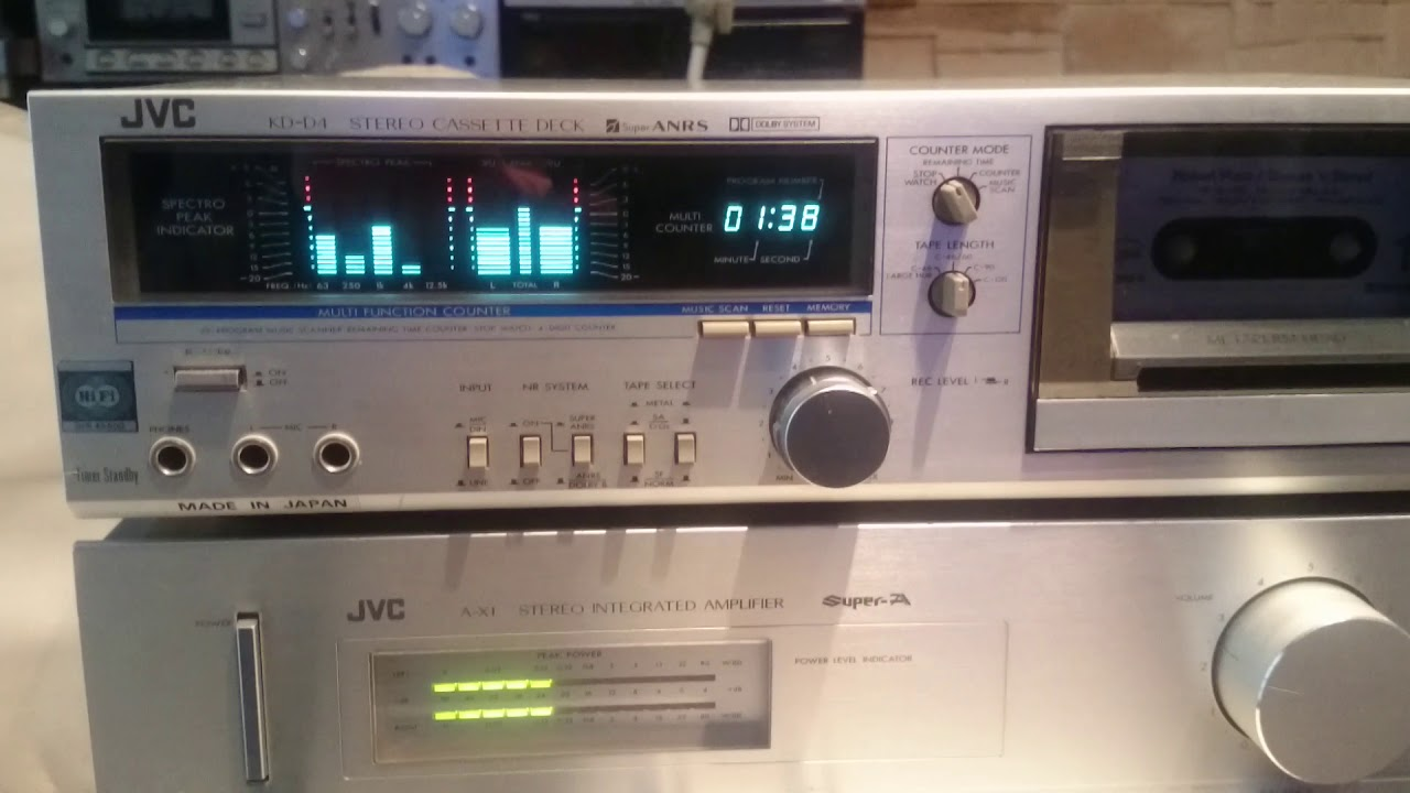 Jvc Ax1 And Jvc Kd D4