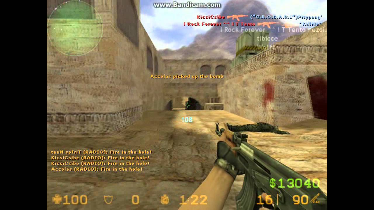 Counter strike 1.8 pro games play