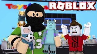 I TRY TO ROB PLAYERS IN ROBLOX 😈 BROME IN ROBLOX