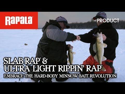 Rapala® Slab Rap® & Ultra Light Rippin' Rap® - The Hard-body Revolution
