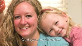 LDS Primary Songs - The Family Is Of God Video