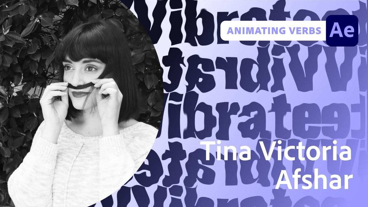 Animating Verbs with Tina Victoria Afshar