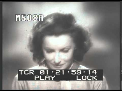 Greta Garbo Screen Test