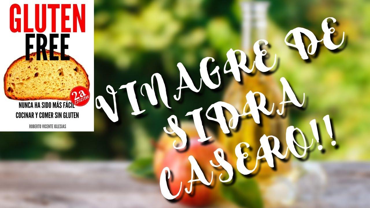 VINAGRE de SIDRA CASERO, ¡¡APRENDE A HACERLO!!