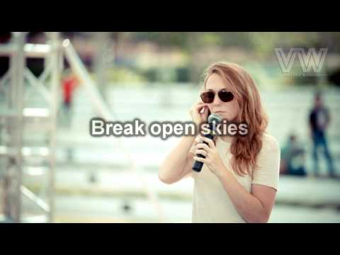Break Open Sky  ( Lyric )  - VW