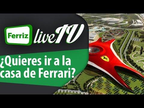 ¿Quieres ir a la casa de Ferrari?