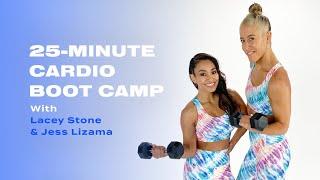 Camp d'entraînement cardio de 25 minutes avec Lacey Stone et Jess Lizama